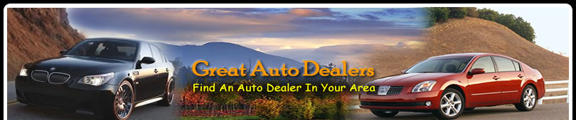 Great Auto, Truck and Recreational Dealership Directory. Find a New or Used Auto, Car, Truck or RV Dealership near you TODAY